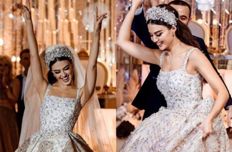 [新聞] 王室貴族高定婚紗禮服,公主心華麗釘珠閃耀王冠,最後一件太仙