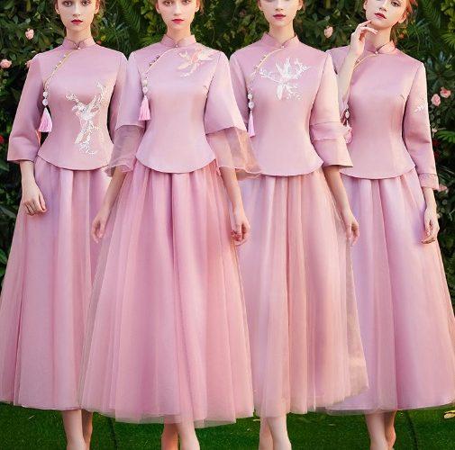 婚紗|冬款伴娘禮服怎麼選 這樣穿才不冷!