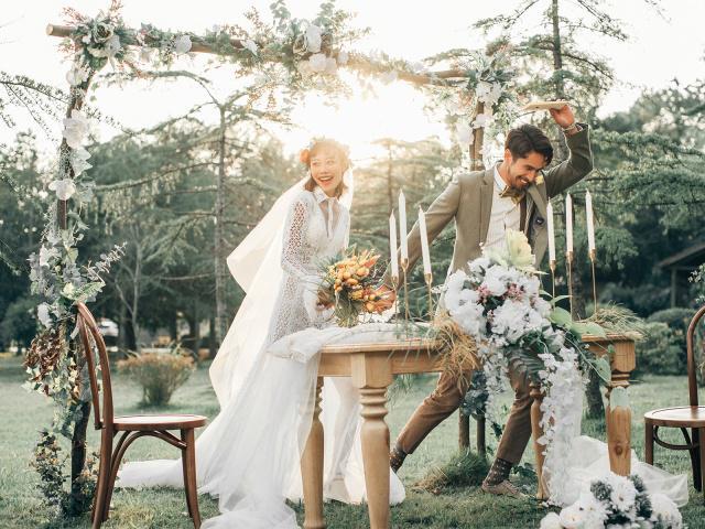 2019好看的森系婚紗照都在這了,不瞭解一下?
