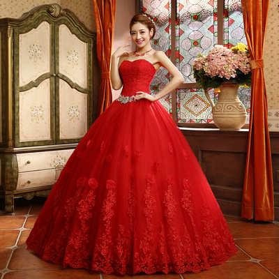 跳脫白色迷思,試試結婚穿紅色的婚紗吧~