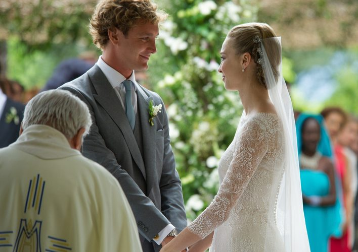 Beatrice Borromeo與Pierre Casiraghi的貴族浪漫婚禮