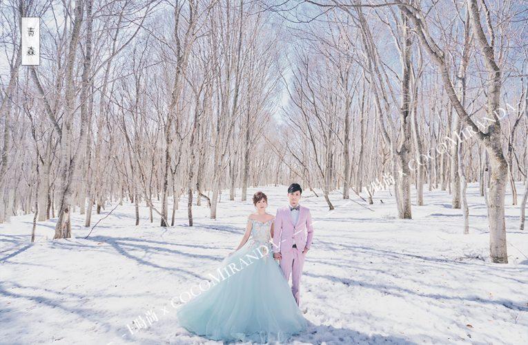 [新聞]海外婚紗照不是夢!E時尚婚紗獲日本青森獨家授權知名景點